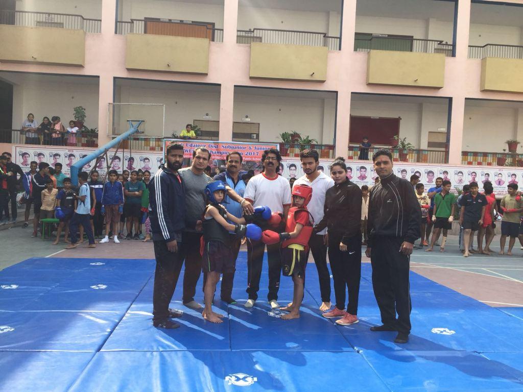 Inaugration of District Wushu Championship