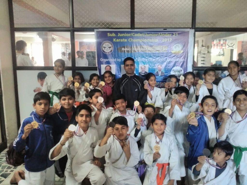 Medalist of District Karate Championship