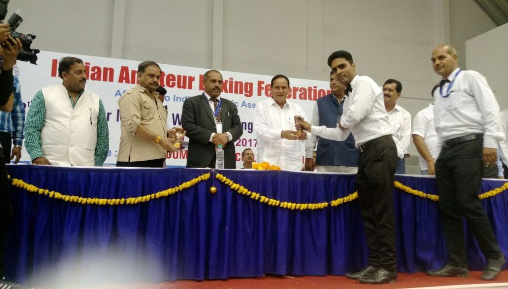 Recognised at National Women Boxing championship at Udaipur